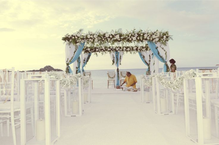 The unique landscape, the bright colours of the sky, the pristine beaches and the picturesque churches are becoming the perfect spots for a dreamy #wedding!  #Mykonos #Catering #Services #WeddingReception