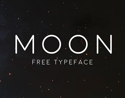 A new FREE rounded, simple, space-ie typeface family entitled Moon, with both thin and bold variations, free for personal use only. Affordable commercial licenses available. Contact me via email : jackharvatt@gmail.com Hope you enjoy! :)