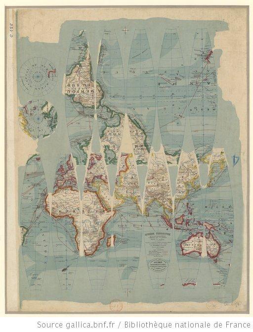 13 best maps images on pinterest globes map crafts and 3d paper sphre terrestre de 0m80 de circonfrence dresse par r gumiabroncs Images