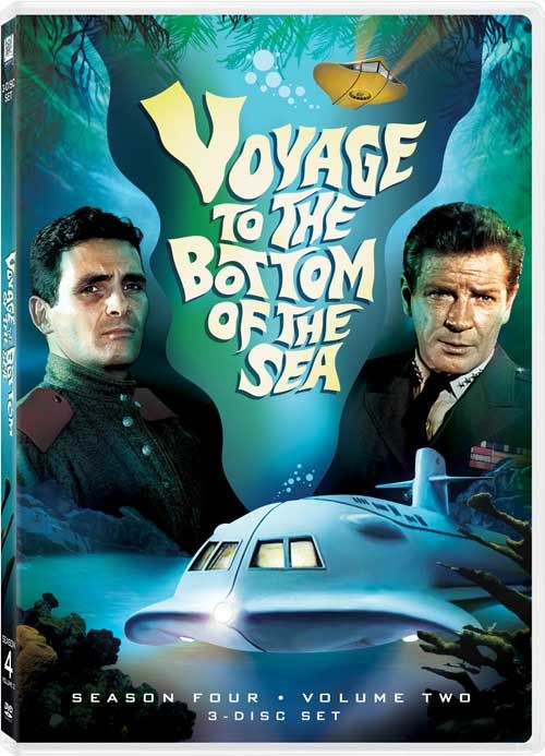 Voyage to the Bottom of the Sea...starring David Hedison as Commander Lee Crane and Richard Basehart as Admiral Nelson