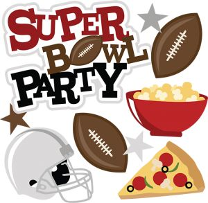Super Bowl Party SVG / Miss Kate Cuttables