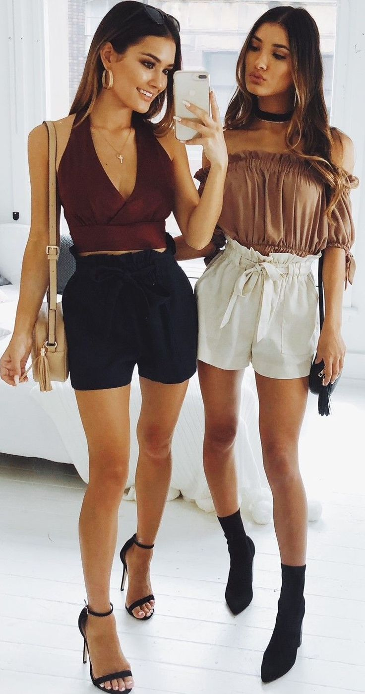 Love these tie-up shorts