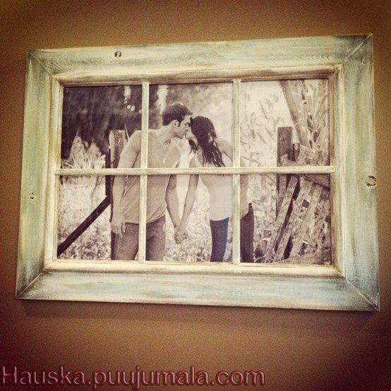 Picture through a window. So want to do this. @ Home Renovation Ideas