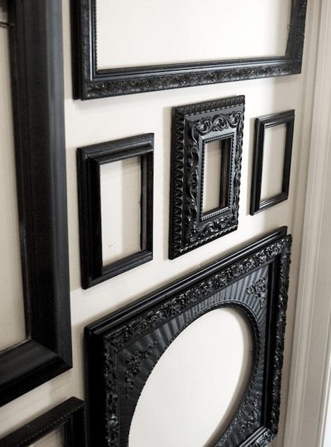 Palette & Paints: Matte Black Painted Furniture : Remodelista