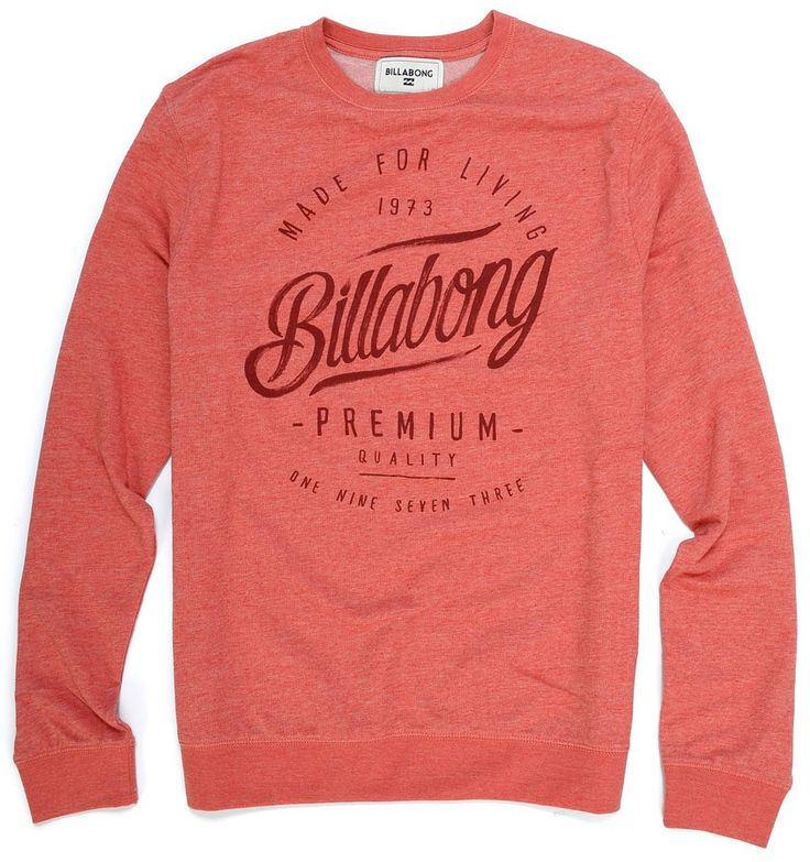 Sweat Básica Billabong RANSOM CORAL