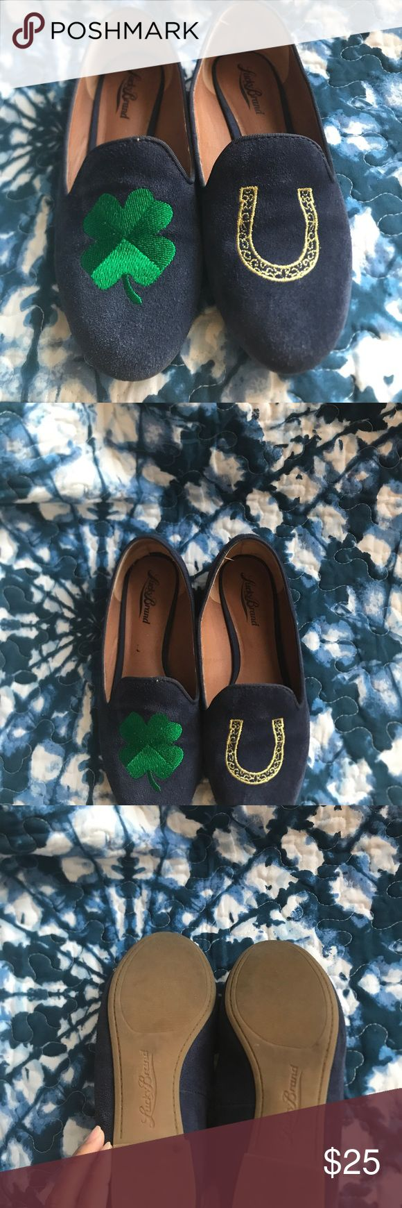 Lucky Brand Loafers Great condition only worn a few times for St Paddys Day! Lucky Brand Shoes Flats & Loafers