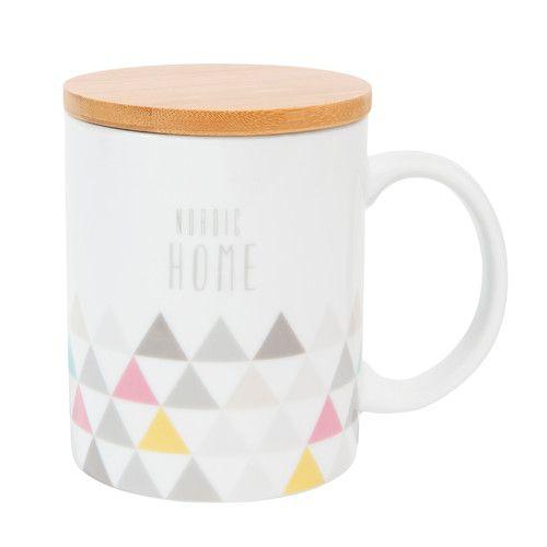 Mug avec couvercle NORDIC HOME | Maisons du Monde