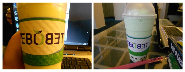 Tebo's Honeydew Boba, satisfied my craving thanks babe :)