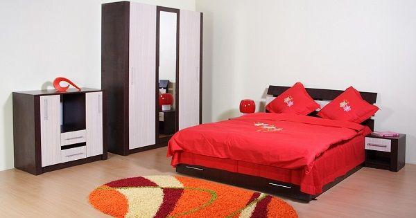 Mobila pentru dormitor Grant - Lorena Mob