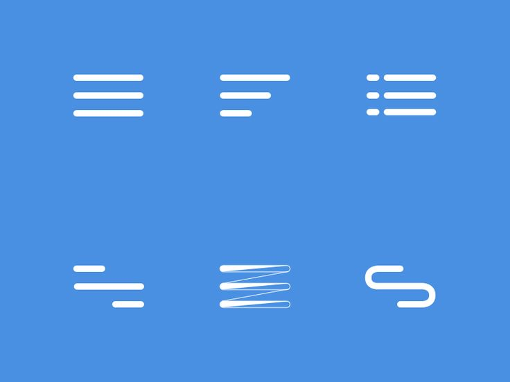 Hamburger Menu Icons by Bulent Keles