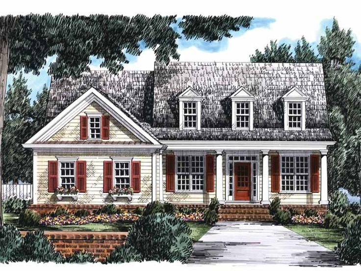 Sophisticated southern charm house plans contemporary for Southern charm house plans
