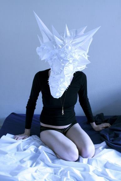 """""""Blind mask. somewhere between dream and mythology"""""""