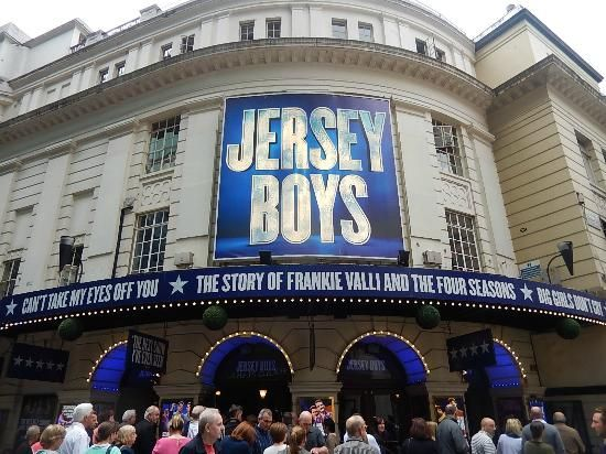 Jersey Boys Magic Showing at Piccadilly Theatre London.