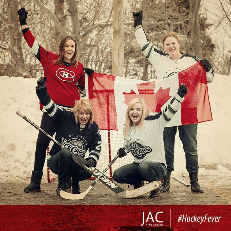 The Team Canada Women's Ice Hockey team won the Gold medal and the JAC ladies couldn't be more excited!