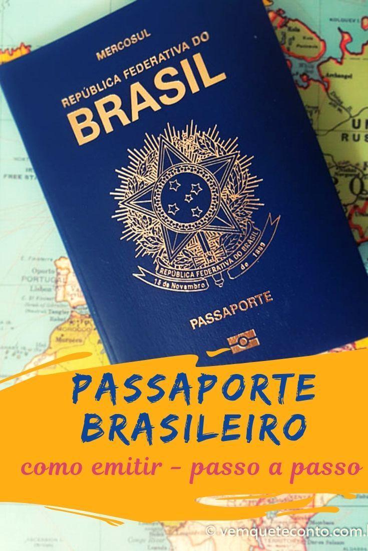Como Tirar Passaporte Brasileiro Passo A Passo Tirar Passaporte
