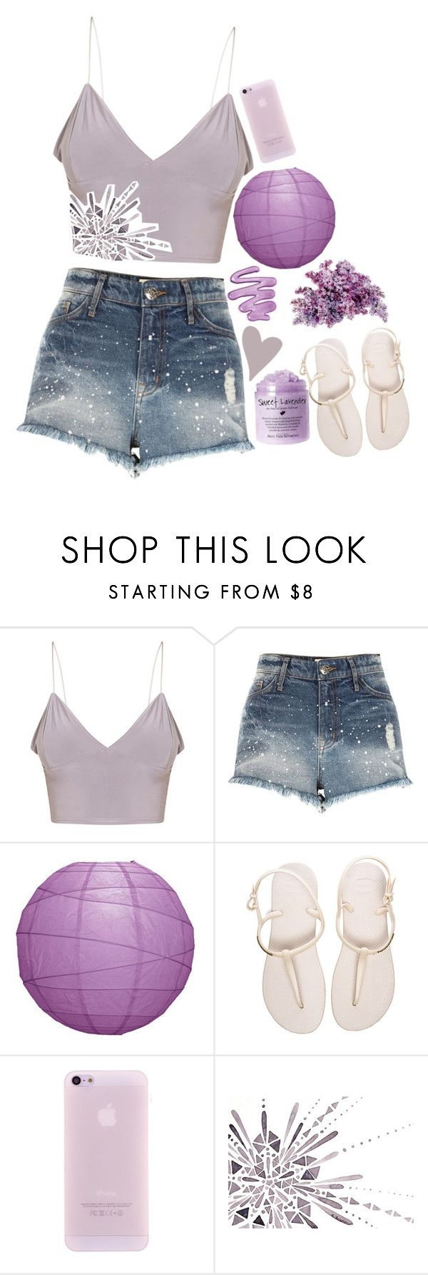 """- i'm missing more than just your body -"" by dvsk-to-dawn ❤ liked on Polyvore featuring River Island and Havaianas"