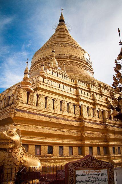 Shwezigon Temple, Nyaung U, Myanmar