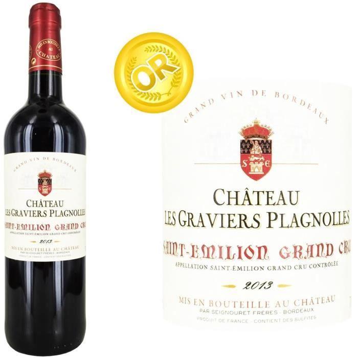 6.99 € ❤ Le #BonPlan #Vins - #StEmilion Grand Cru Château Les Graviers Plagnolles, #Vin Rouge Bordelais ➡ https://ad.zanox.com/ppc/?28290640C84663587&ulp=[[http://www.cdiscount.com/vin-champagne/vin-rouge/st-emilion-grand-cru-chateau-les-graviers-plagnoll/f-129330103-gplagno13.html?refer=zanoxpb&cid=affil&cm_mmc=zanoxpb-_-userid]]