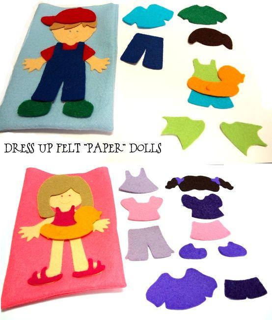 Skládání postaviček http://pinterest.com/happyhippo56/preschool-busy-bags/