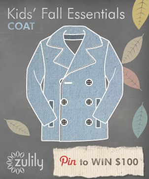 A must-have in every child's wardrobe. These coats are a part of the #fall essentials from #zulily.