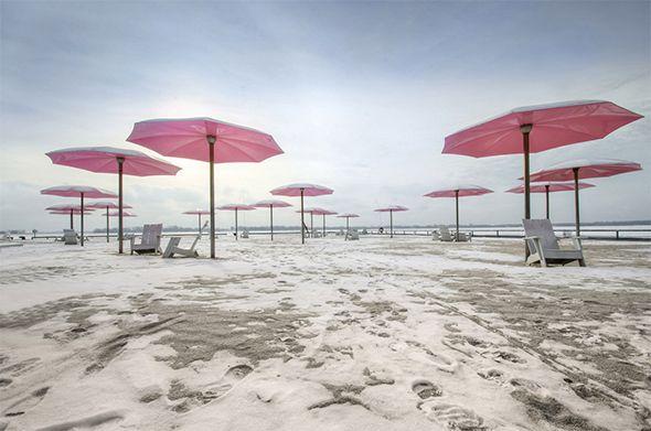 Sugar beach - Toronto