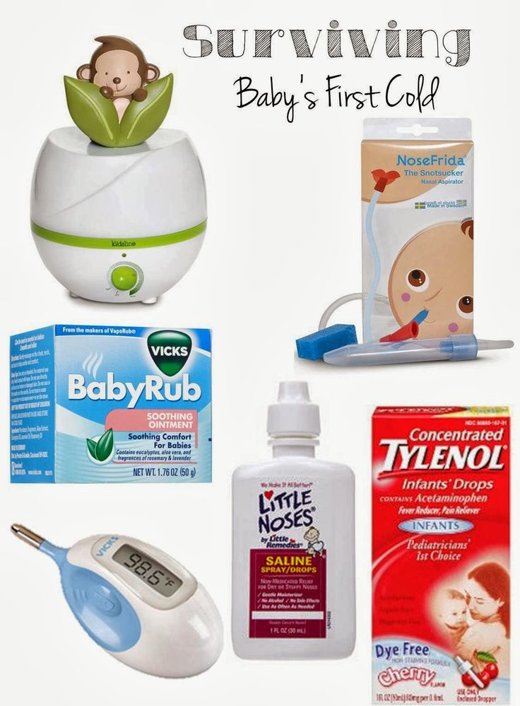 Surviving Baby's First Cold, sick baby, baby colds, baby cold products