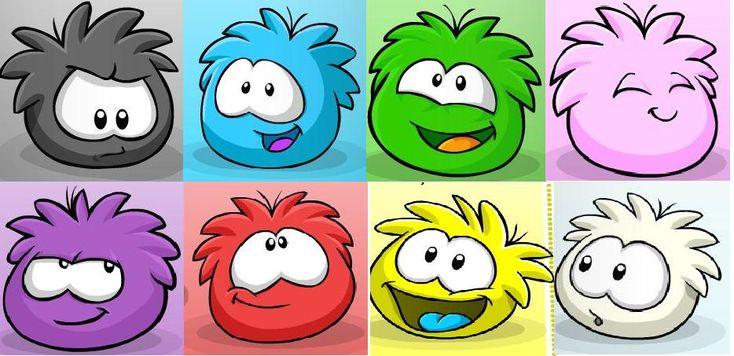 Dibujos de puffles de Club Penguin - Imagui