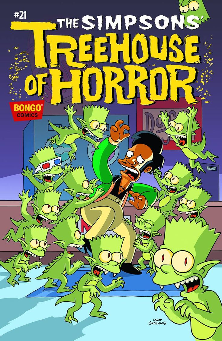 Shop for Simpsons Treehouse Of Horror #21 from Bongo Comics - written by Ian Boothby. Comic book hits store shelves on September 16, 2015