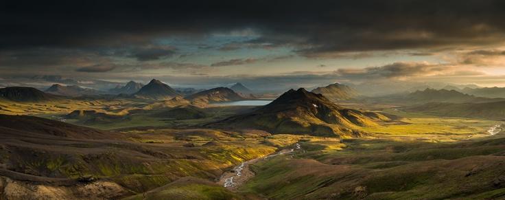 photo - Lake Alftavatn, Laugavegur Trail, Iceland - Rob Brown