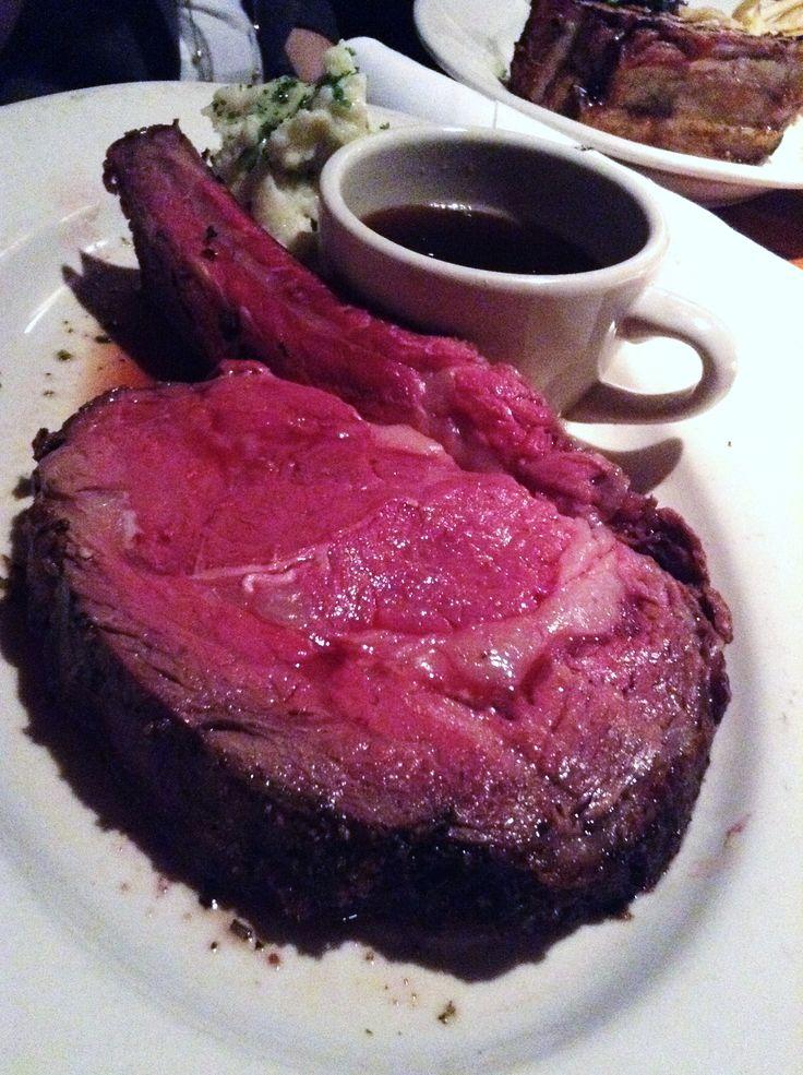 Prime rib at Los Altos Grill