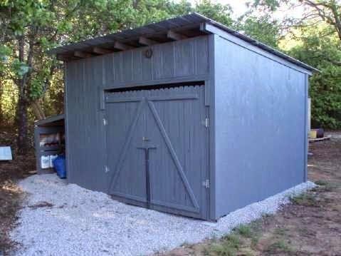 Como hacer una caba a o almac n con palets de madera for Como hacer una valla con palets