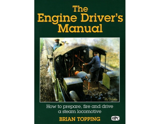 If ever you've fancied driving a steam locomotive, this is the book for you.
