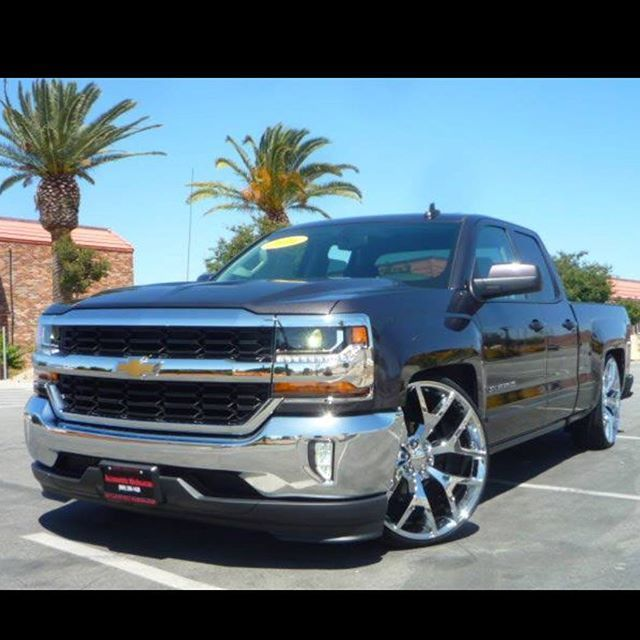 NEW 2016 CHEVROLET SILVERADO LT Call us @ 909 206 1420 #silveradonation#singlecab# #replicas#colormatch#dropped# #dub#dubballers#26s#chevy# #chevrolet#ltzs#lt#denalis# #suelo#instatruck#lower#low# #automotrizmichoacan# #truckporn#carporn#custom# #Gm_daily#Gmfever#caliview_pics #gmloyalty#caliviewphotography #droppedcrewcabs#highcountry #2016silverado#