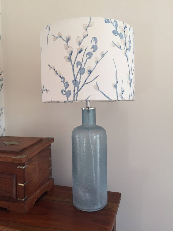 Excited to share the latest addition to our #etsy shop: Handcrafted Drum Lampshade in Laura Ashley Pussy Willow Off White /Seaspray Fabric 20cm, 30cm, 40cm #housewares #lighting #blue #white #bedroom #coastaltropical #lightshade #seaspray #offwhiteseaspray #pussywillow #livingroom #interiors #handcraftedlampshade #madetoorderlampshade