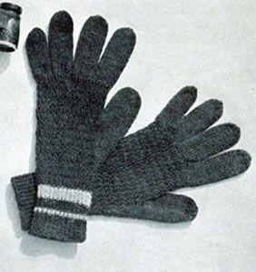 Men's Gloves Pattern | Knitting Patterns