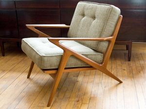 Kai Kristiansen Z Lounge Chair