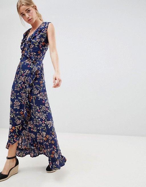 4fc5754992 No Frills · Fashion Online · image.AlternateText Maxi Wrap Dress