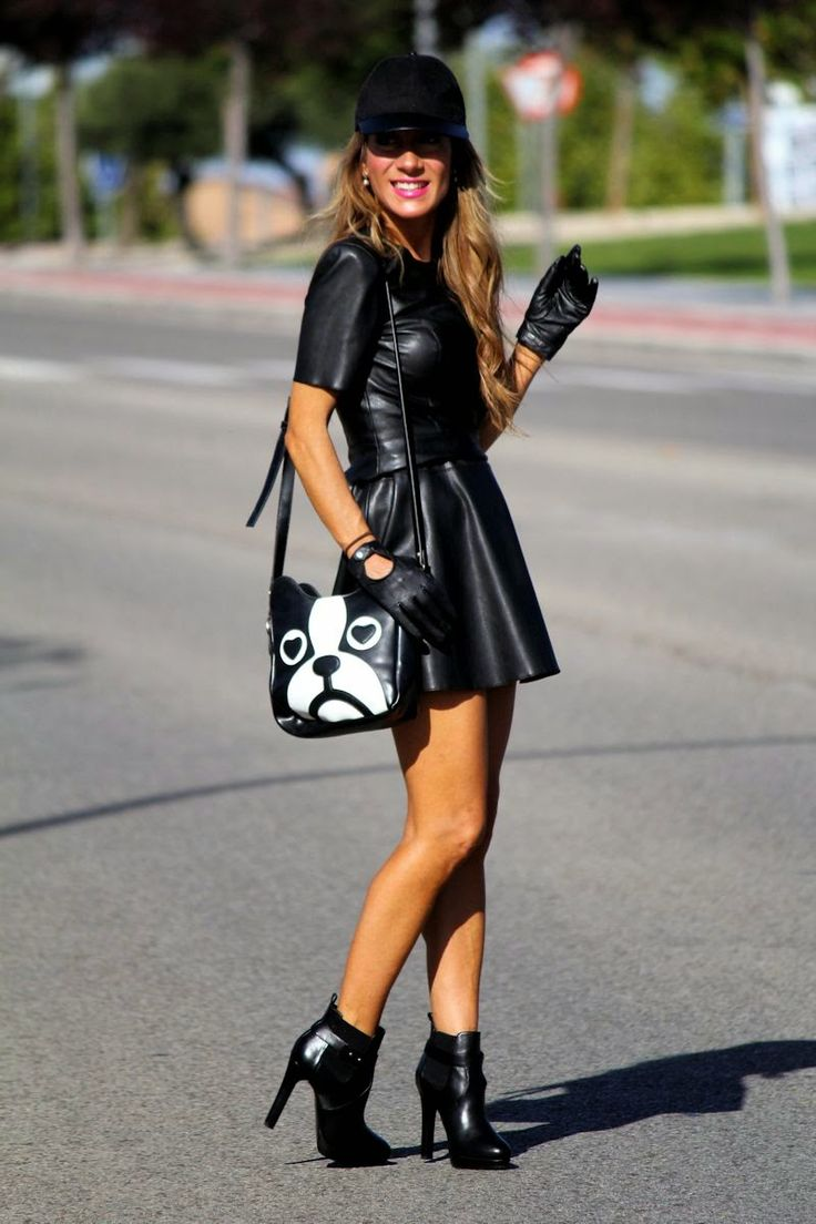 Be inspired by the people in the street! www.streetstylecity.blogspot.com leather