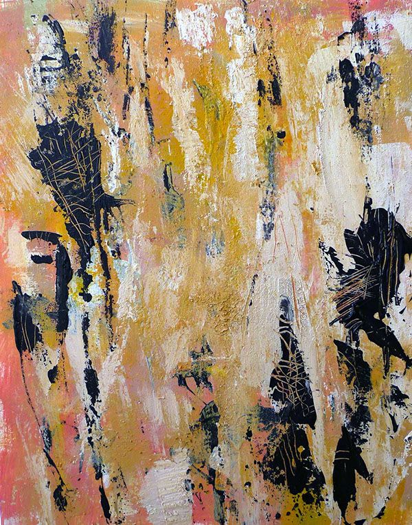 Yu Polch contemporary abstract painting - modern Art