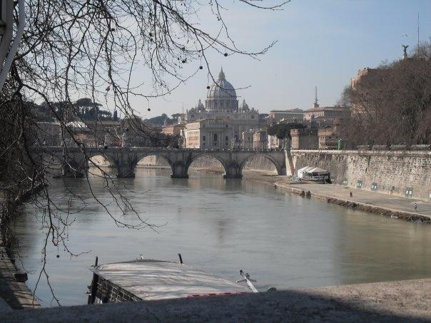 Tevere. Roma.