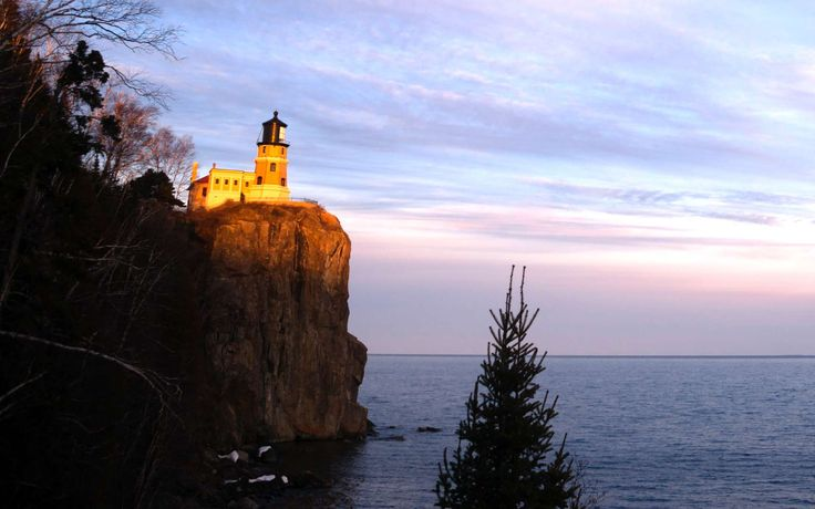 Designed by famous lighthouse engineer Ralph Russell Tinkam in 1910, the Split Rock Lighthouse was b... - Chris Boswell/Getty Images
