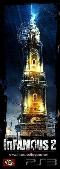 Torre di New Marais  Infamous 2 .