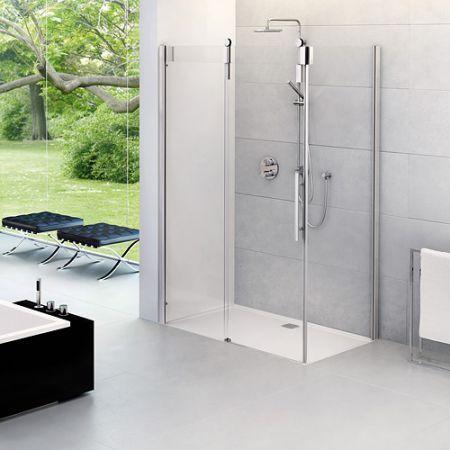 Heute schon an morgen denken: Mit einer  bodengleich Dusche ist euer Badezimmer topmodern und gleichzeitig bestens für Eure Zukunft ausgestattet! #bathroomdesign #accessible #ageappropriate #walkinshower