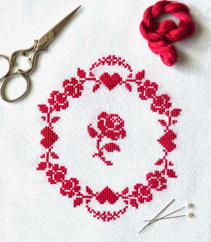 Sew French Blog A Free Counted Cross Stitch Pattern