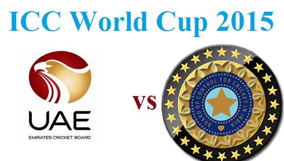 India vs UAE live cricket match streaming