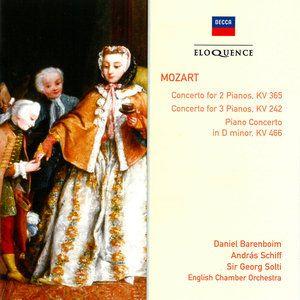 Reunión cumbre.  W.A. Mozart - Concerto for 2 Pianos KV 365, Concerto for 3 Pianos KV 242, Piano Concerto KV 466 (2006)