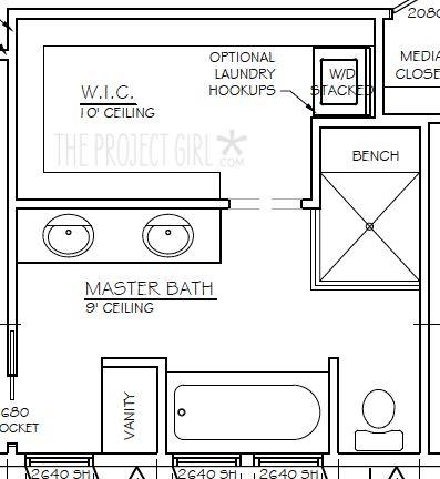 bath plan. 9 best Closet Design    images on Pinterest   Closet designs