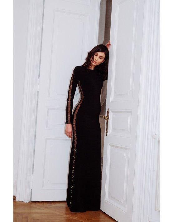 Halo Long Dress