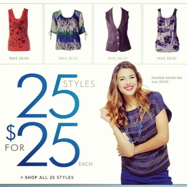 Deal Alert (CDN): Ricki's 25 Styles For $25 Each Today/Online Only $2.99 Tights Happy Shopping! #deal #alert #rickis  #styles #tights #clothing #fashion #sale #women