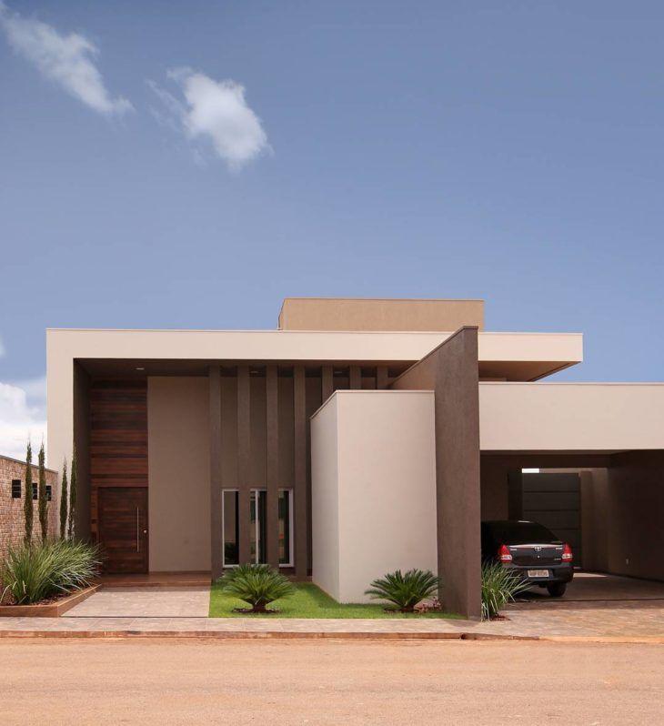 As 25 melhores ideias de casa com telhado no pinterest for Fachadas de casas modernas trackid sp 006